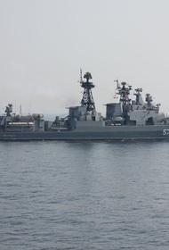 Sohu: уход эсминца США «Джон Маккейн» из вод России, вероятно, спас его от затопления «Адмиралом Виноградовым»
