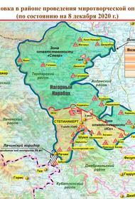 Обстановка в Карабахе контролируется российскими миротворцами с помощью БПЛА «Орлан-10»