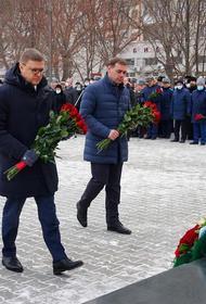 В Челябинске возложили венки к памятнику героями-интернационалистам