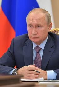 Путин рассказал, в чем обвиняют советника главы «Роскосмоса» Сафронова