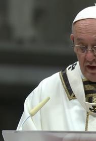 Рождественская месса Папы Римского перенесена из-за комендантского часа