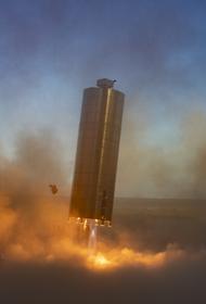 Взрыв космического корабля от SpaceX во время испытаний сняли на видео