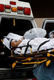 В США число умерших от COVID-19 за сутки достигло максимума за все время пандемии