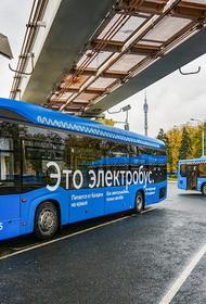 Развитие экологических видов транспортов является приоритетом для Москвы