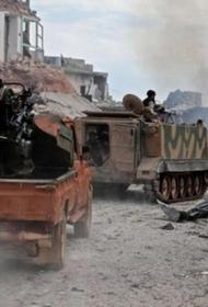 Протурецкие боевики в Сирии вооружены американскими противотанковыми управляемыми ракетными комплексами TOW