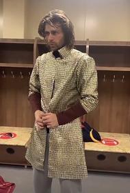 Навка рассказала, что Чернышов похудел, и пришлось перешивать ему костюмы