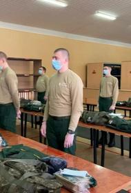Более 400 призывников отправились в научные и научно-производственные роты ВС РФ