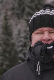 Дмитрий Губерниев в прямом эфире пожевал варежку из-за провала российских биатлонисток