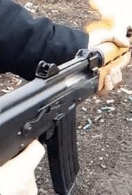 Украинский дезертир открыл огонь из автомата по автозаправке и проезжающим машинам