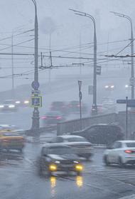 В МЧС предупредили москвичей о снеге и гололедице вечером в среду