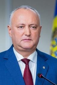 Додон посетит Москву в качестве лидера Партии социалистов