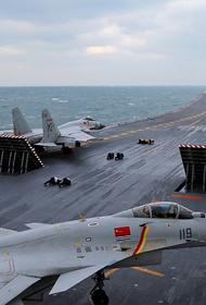 Вслед за США КНР провела свою демонстрацию военно-морской силы