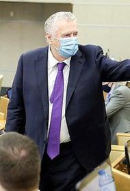Жириновский пожаловался на качество медицинских масок