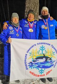 Любители зимнего плавания Приморского края - инициаторы акции