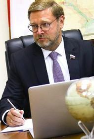 Косачев заявил, что Россия будет отвечать на санкции США в двустороннем режиме