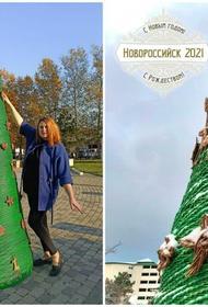Новороссийская ёлка попала в книгу рекордов страны