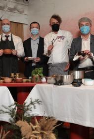Украинские министры соревновались в приготовлении борща