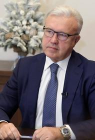 Красноярский губернатор вакцинировался от коронавирусной инфекции