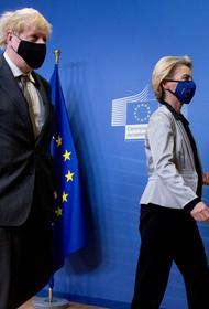 Джонсон: Великобритания и ЕС согласовали торговую сделку после Brexit