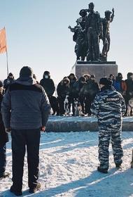 В Хабаровском крае активисты прошли по пути военных строителей 1933 года