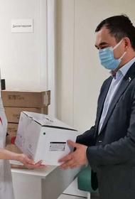 Благотворительный фонд Юрия Тена передал оборудование медицинским учреждениям