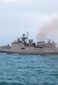 Avia.pro: на борту двух российских боевых кораблей заметили отметки, напоминающие суда НАТО