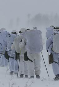 Горные стрелки ЦВО провели учения в сложных погодных условиях