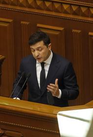 Зеленский запретил российским  судам ходить по украинским рекам
