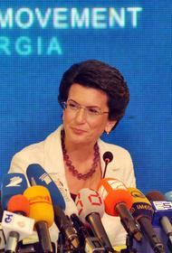 Грузинский политик Нино Бурджанадзе: «В Грузии есть обида на Россию»