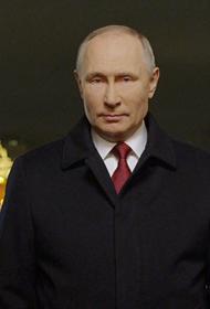 На Украине новогоднее поздравление Путина стало популярнее обращения Зеленского
