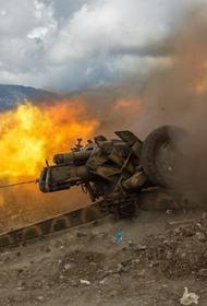 Турецкие войска открыли артиллерийский огонь на севере Сирии