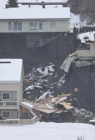 В результате схода оползня в Норвегии погибли пять человек