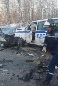 В Челябинской области произошло ДТП с автобусом детской хоккейной команды