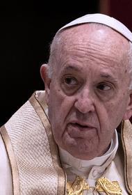 Папа Римский Франциск поздравил православных верующих с наступающим Рождеством