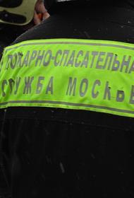 При пожаре в Москве погибли два человека