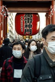 В Большом Токио вводят на месяц режим ЧС из-за коронавируса