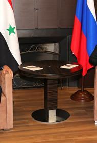 Путин рассказал о своем прошлогоднем визите в Дамаск