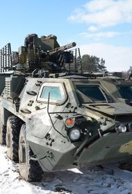Разведка ЛНР сообщает о передвижении украинской бронетехники