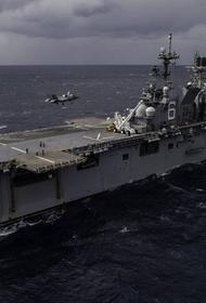 ВМС США разместили истребители F-35B на десантном корабле America