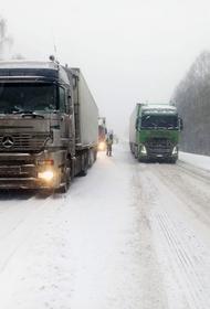 В Челябинской области ограничили движение по трассе М5 «Урал» из-за непогоды