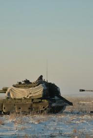 Танковая дивизия ЦВО проводит стрельбы и тактические занятия на полигоне в Челябинской области