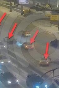 На Садовом кольце столицы произошло ДТП с шестью автомобилями