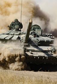 Появилось видео с азербайджанским Т-90, уничтоженным во время войны в Карабахе из системы «Корнет», поставленной Армении Россией