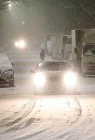 Москвичей в субботу ожидает снегопад