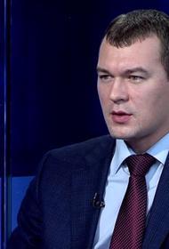 Украина завела уголовное дело против врио губернатора Хабаровского края Дегтярёва. Он обвиняется в финансировании терроризма