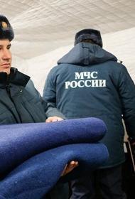 Шесть мобильных пунктов обогрева организованы МЧС на дорогах Краснодарского края. Сильный снегопад парализовал жизнь региона