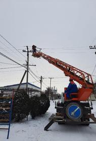 Энергоснабжение в Анапском районе восстановлено