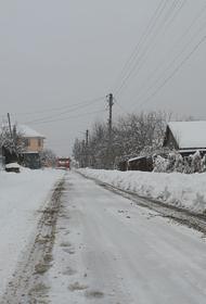 За 17 января на Кубани выпала треть месячной нормы осадков