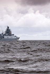 Российский боевой корабль зашел в город-порт Алжир