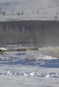Центральный военный округ вывел свои основные танковые силы на учения